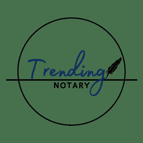 Trending Notary Logo